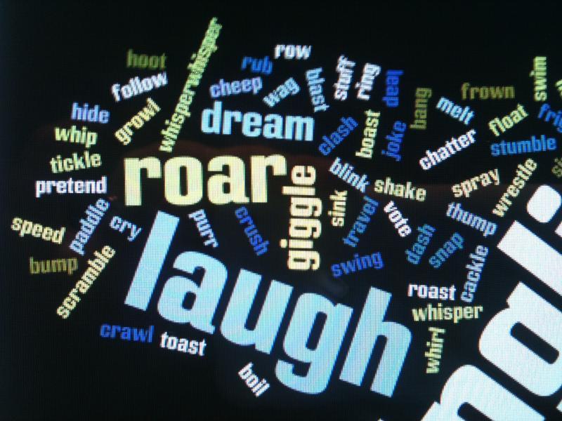 How Describe Laugh Writing