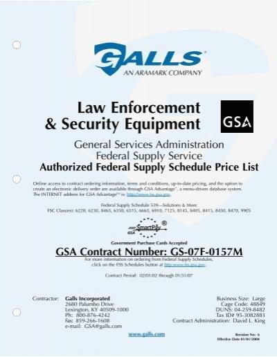 Galls Security Equipment