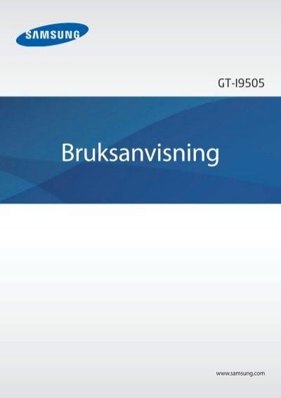 Manual Samsung Galaxy S4 Gt I9500 I9505