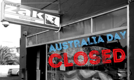 Closed Australia Day