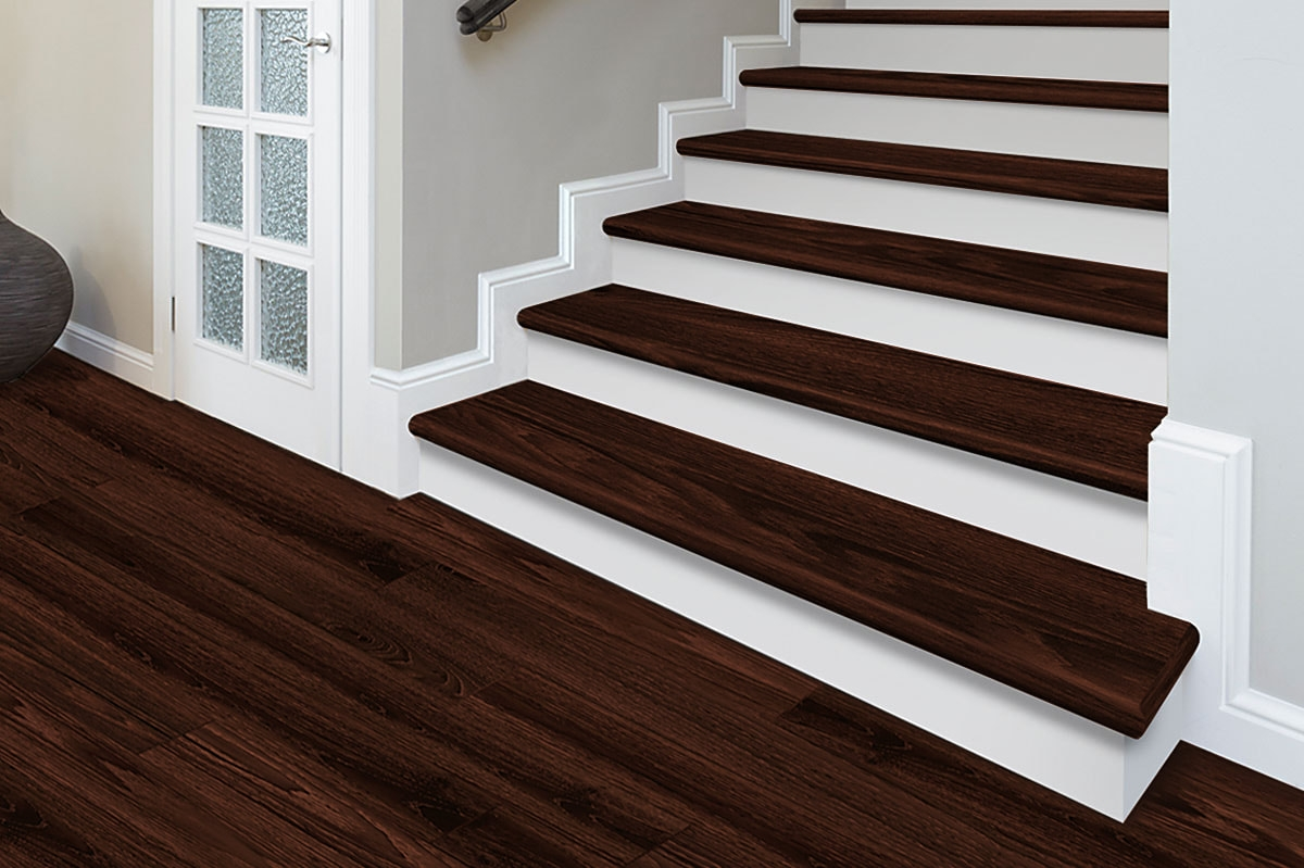 Zamma Corporation Custom Pre Finished Molding   Red Oak Stair Treads Home Depot   Wood Stair Nose   White Oak   Unfinished Pine   Engineered Wood   Stairtek