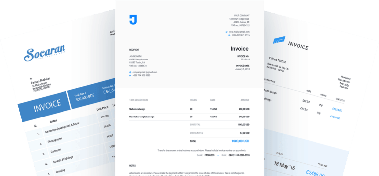 Online Invoicing   Billing Software   Bills and Invoices   Zap         online free online invoice generator best invoicing software invoice  design invoice accounting how to make invoice payment basic invoice  template