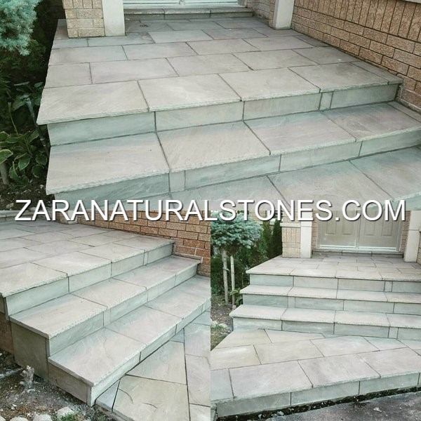 Grey Patio Stone Pavers Toronto Vaughan Kleinburg Maple