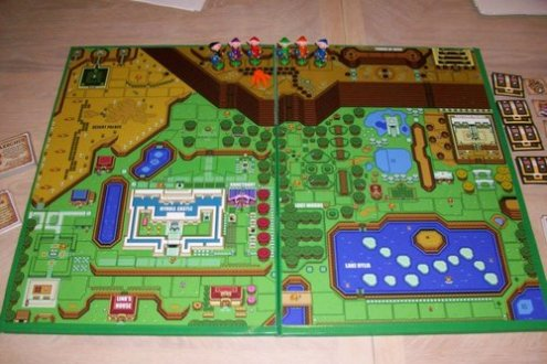 Custom Zelda Board Game   Zelda Universe We ve all been there before  you are in the middle of a Zelda game when a  well meaning family member kicks you off to play a board game or something