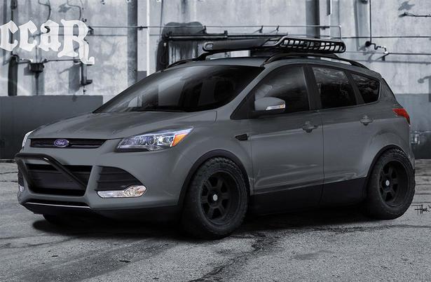 2013 Ford Escape And Explorer At 2012 Sema