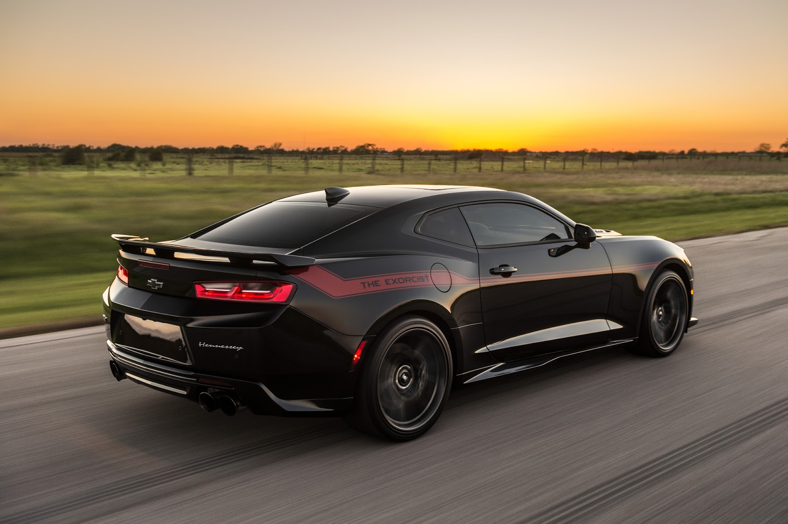 Hennessey's Exorcist Is One Bad-Ass Camaro ZL1