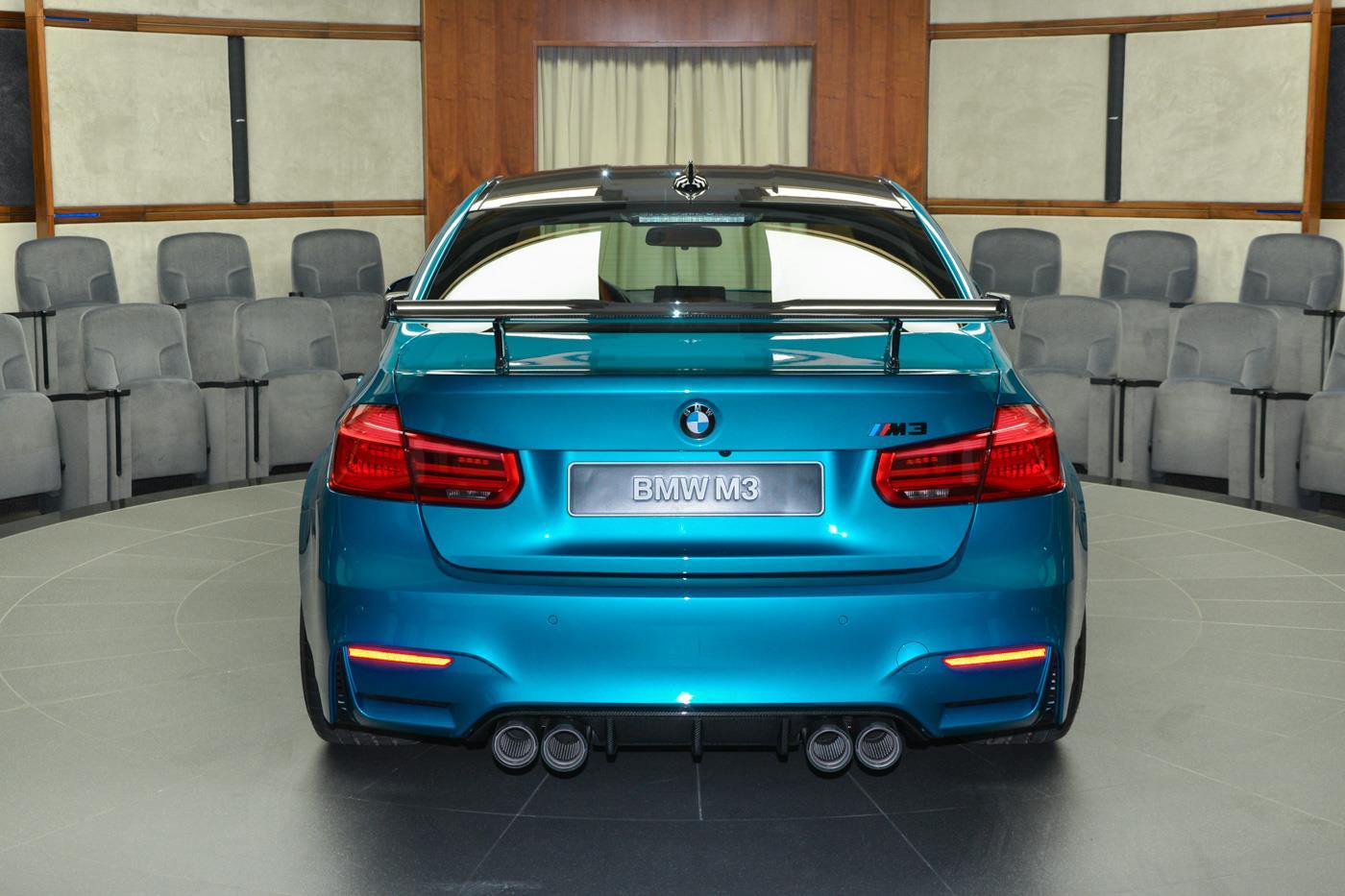 Atlantis Blue Bmw M3 Looks Astonishing With M Performance