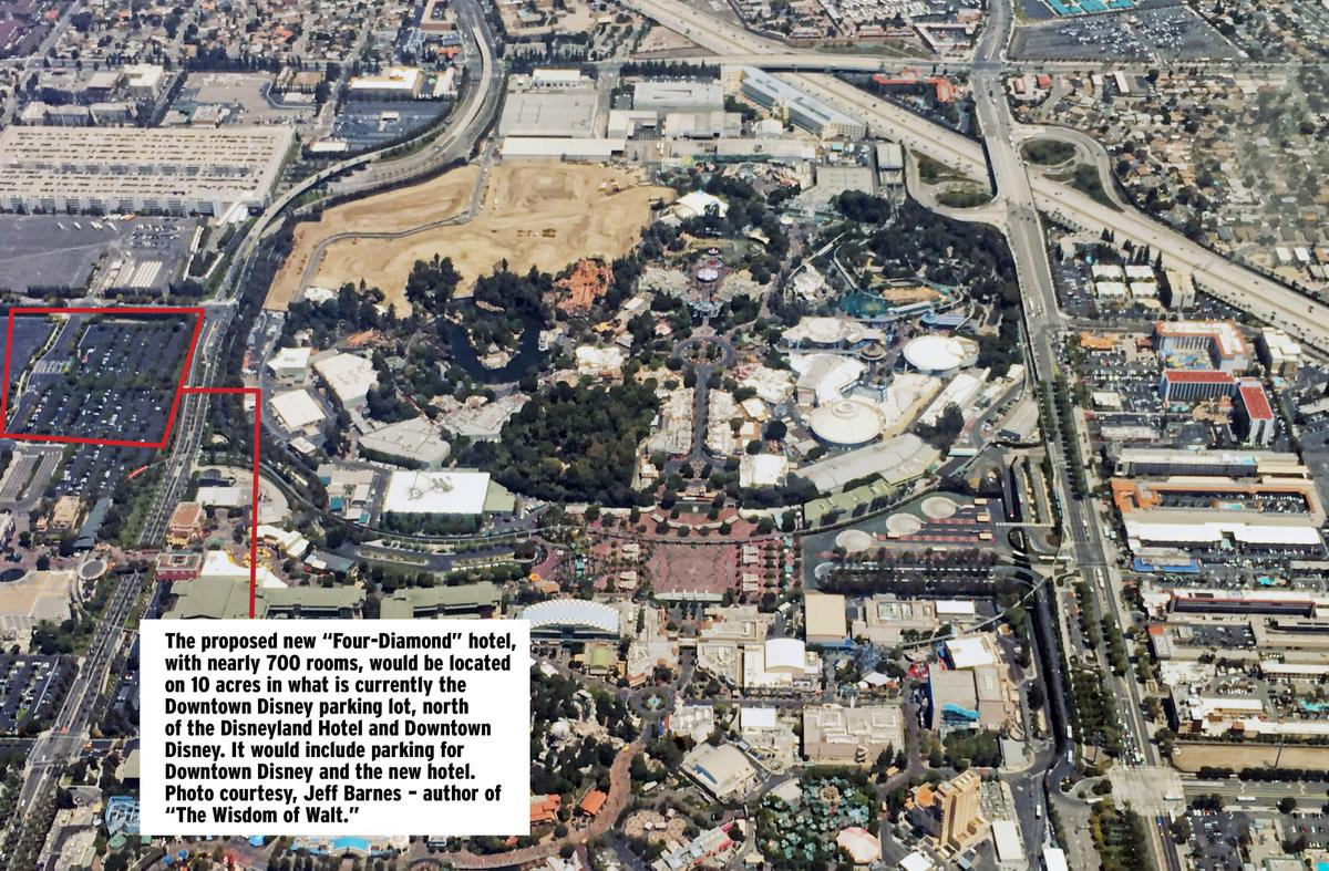 Best Kitchen Gallery: Disneyland To Build New Luxury Hotel of Downtown Disney Resort Area Hotels  on rachelxblog.com