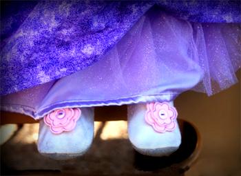 Sådan laver du et Rapunzel kostume