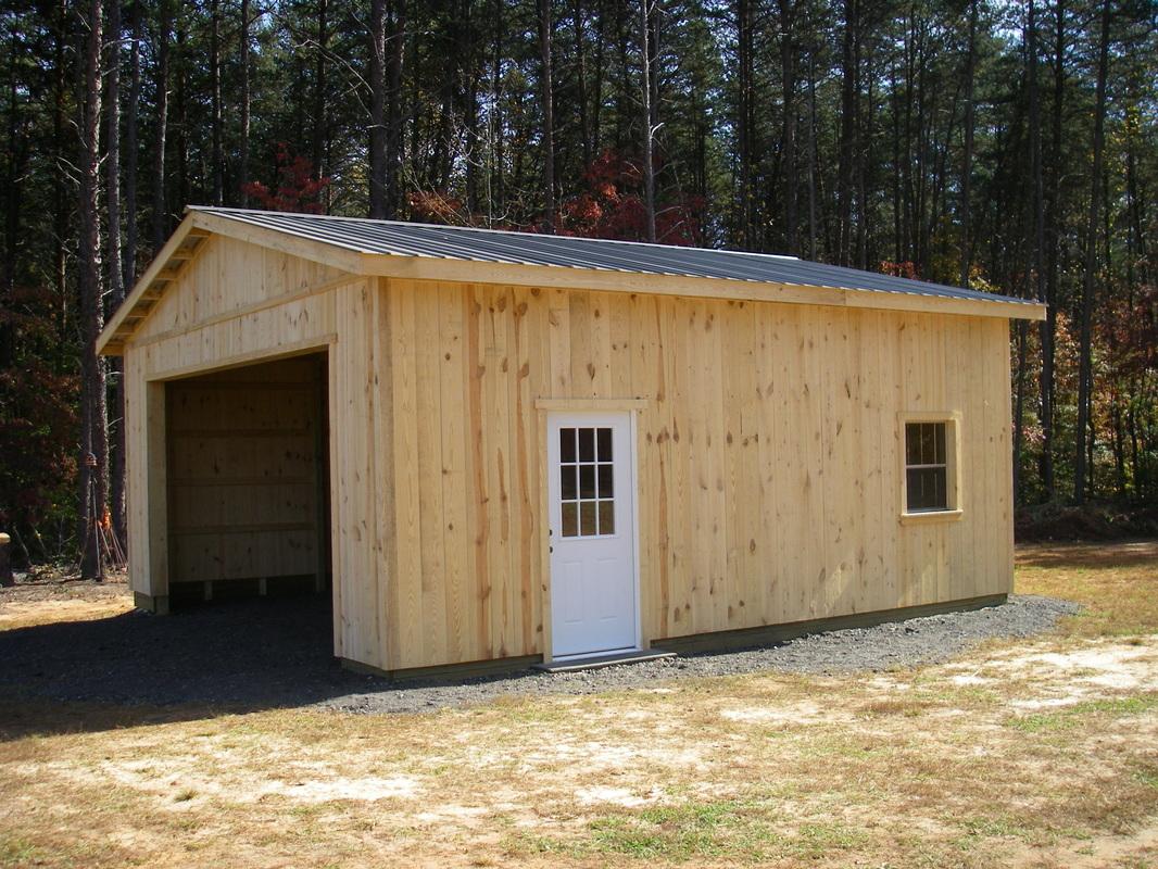 Free 24x30 Pole Barn Plans