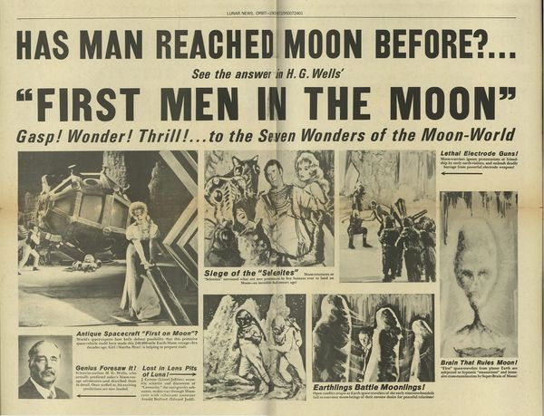 First Men In The Moon 1964 Herald From Zombos Closet
