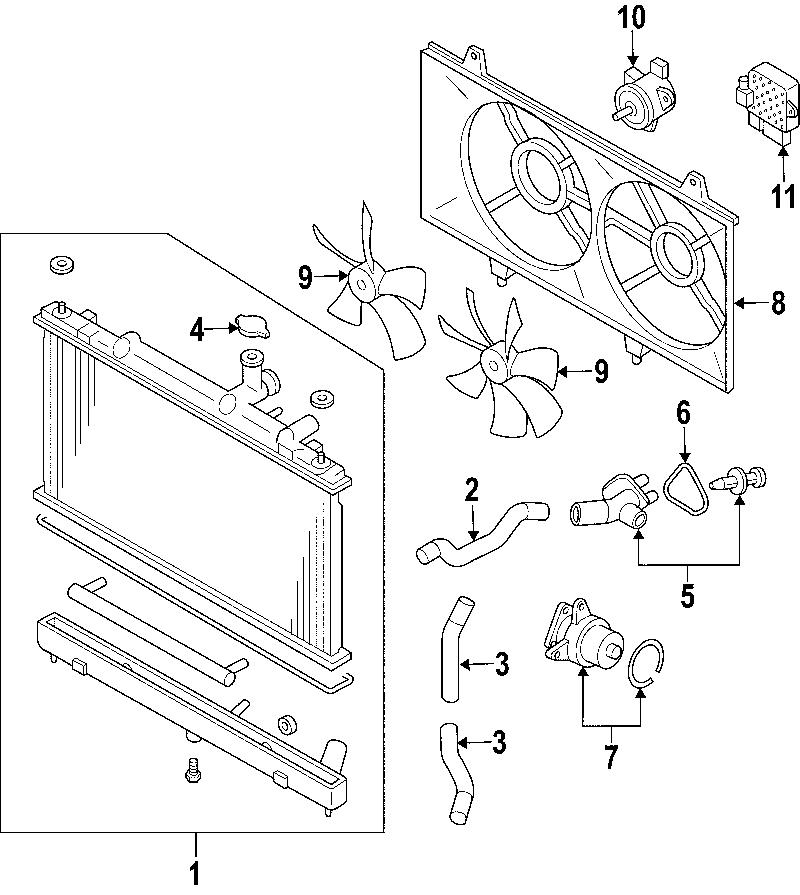 2010 Mazda Cx 7 Engine Diagram