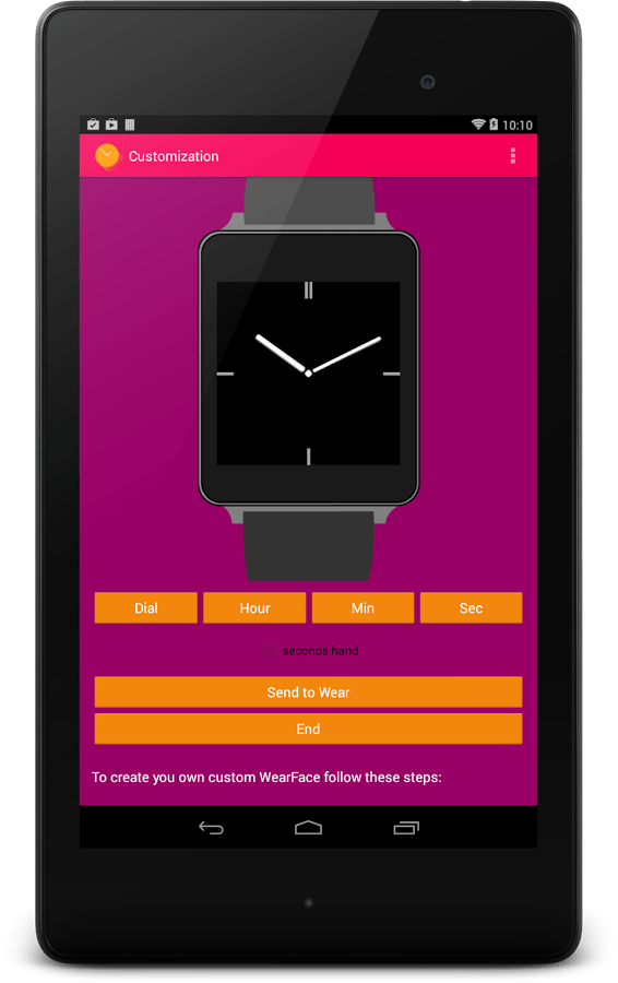 Create Custom Android Wear Watch Faces with WearFaces