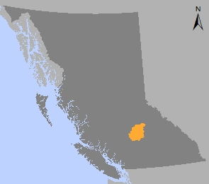 100 Mile House Sustainable Resource Management Plan   Province of     Map of 100 Mile House area