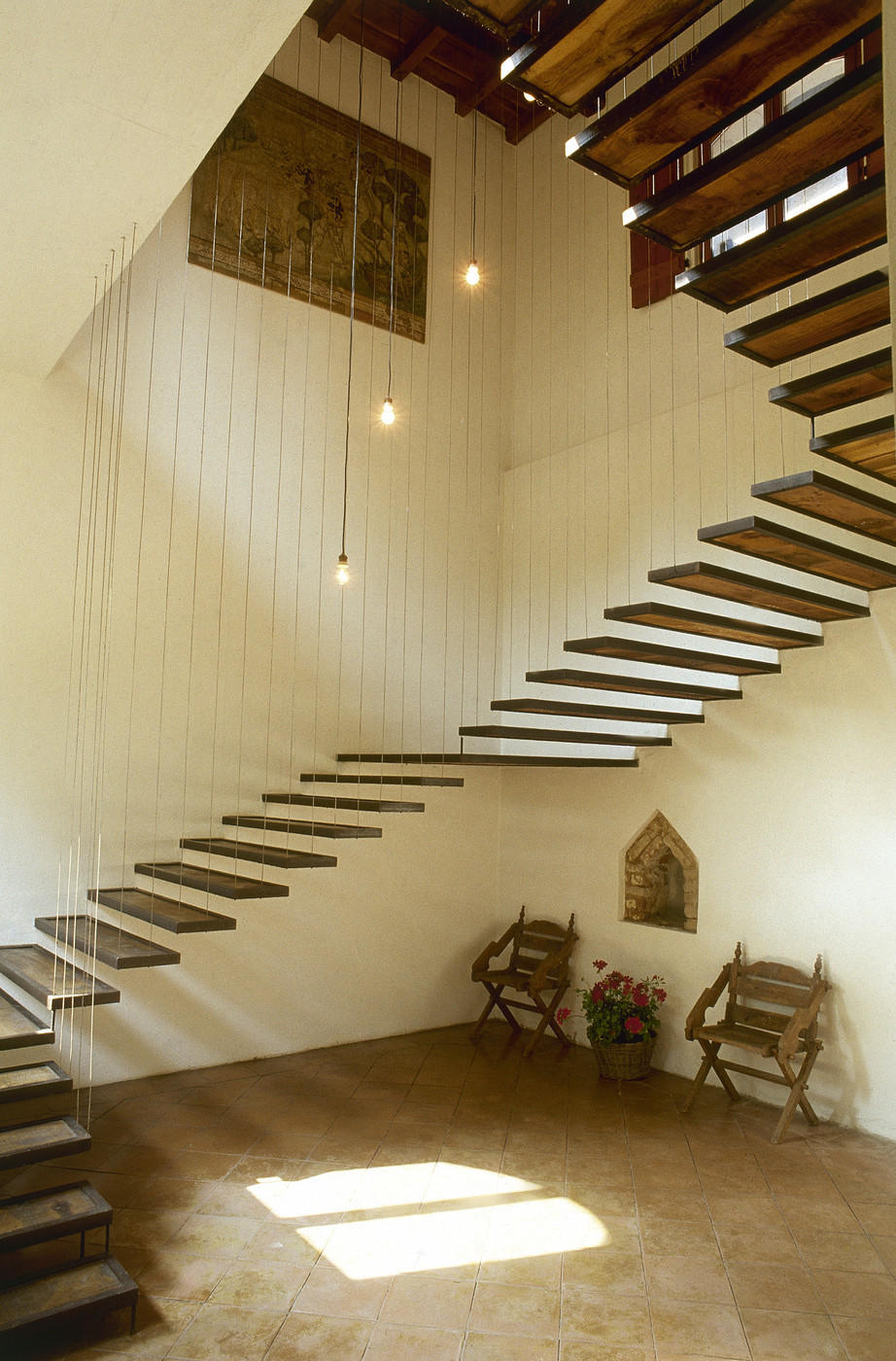 Suspended Ceiling Stairs