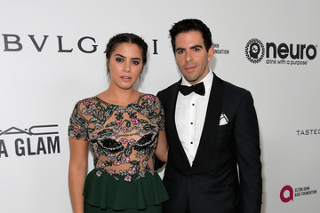 Eli Roth Lorenza Izzo Pictures  Photos   Images   Zimbio Eli Roth Lorenza Izzo 25th Annual Elton John AIDS Foundation s Oscar  Viewing Party With Cocktails by