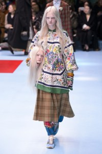 Gucci at Milan Fashion Week Fall 2018   Livingly Gucci at Milan Fall 2018