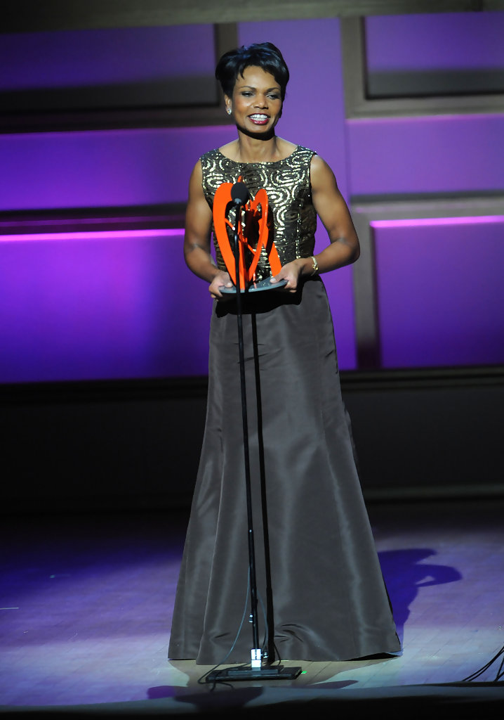 Condoleezza Rice In 19th Annual Glamour Women Of The Year