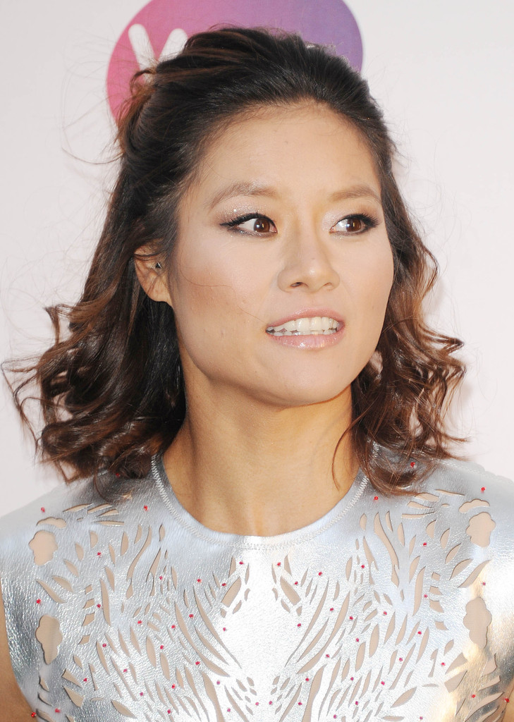 Li Na Half Up Half Down Li Na Looks Stylebistro