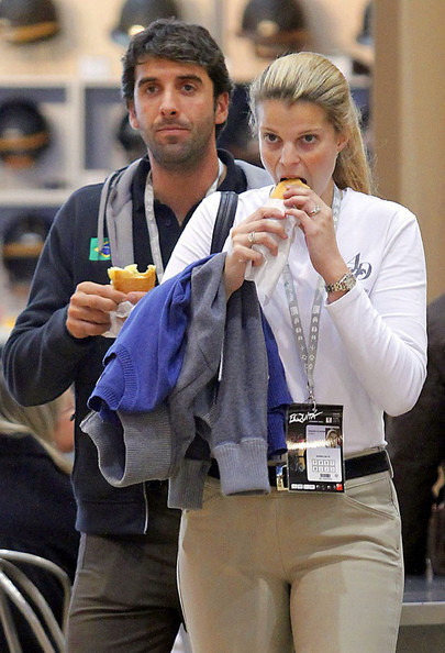 Athina Onassis In Athina Onassis Roussel Grabs A Snack