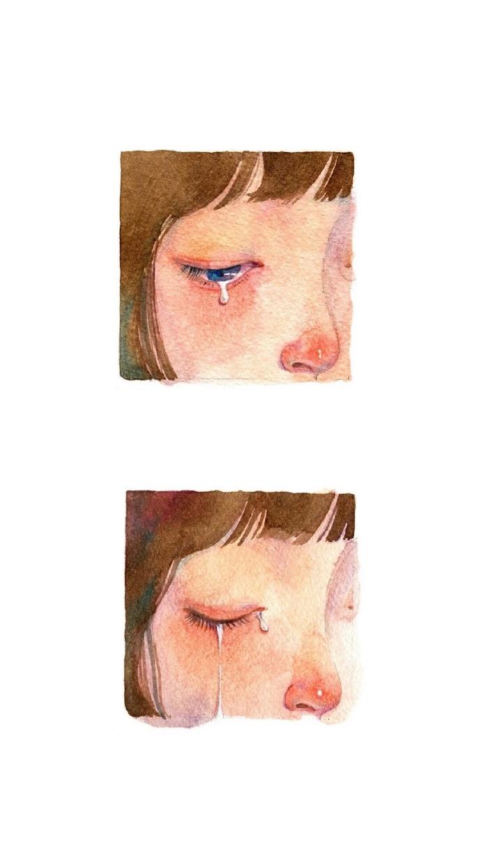 早安插画心语181122:我心里都是你,你心里也他妈都是你自己