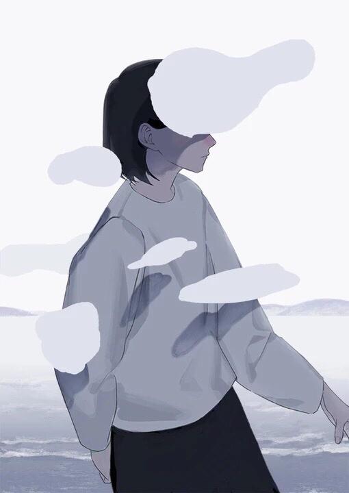 晚安心语插画181122:可以为钱为脸为身材烦恼,千万不要为感情折腰