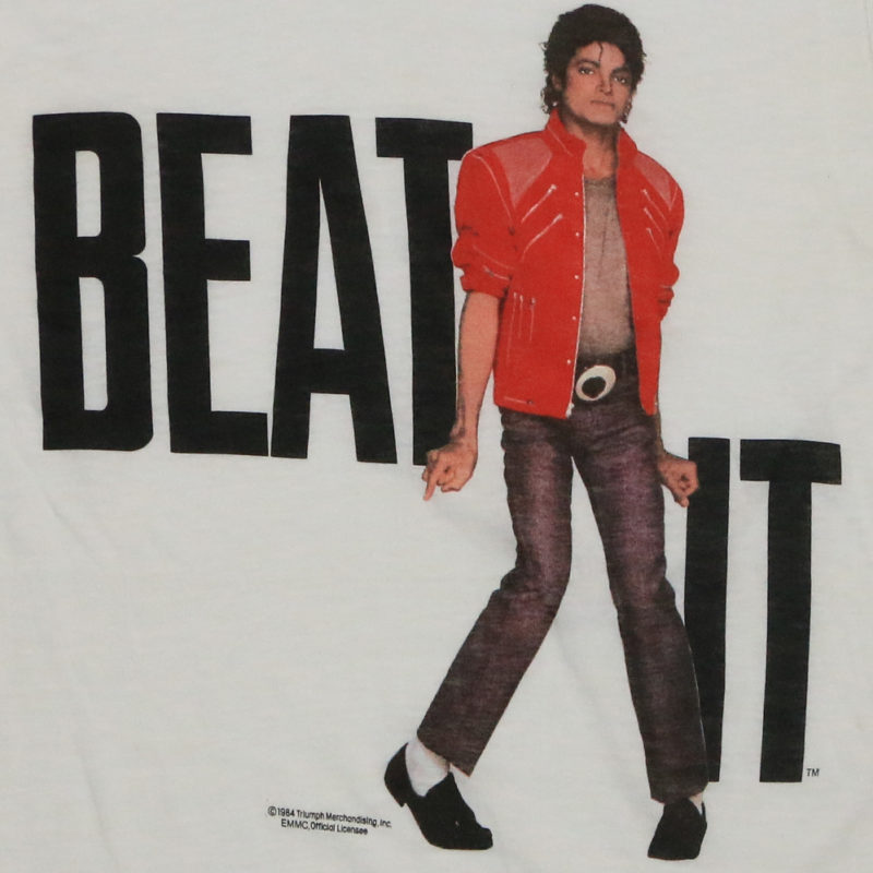 Michael Jackson Beat It Shirt 1984 | WyCo Vintage