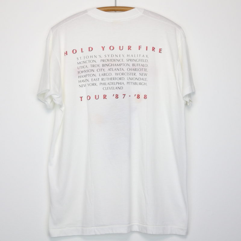 Rush Hold Your Fire Shirt