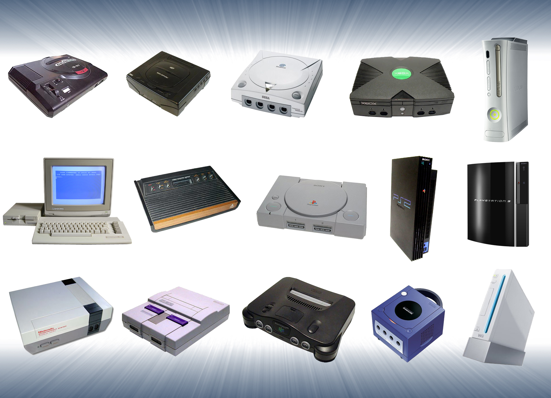 video game consoles - HD1201×769