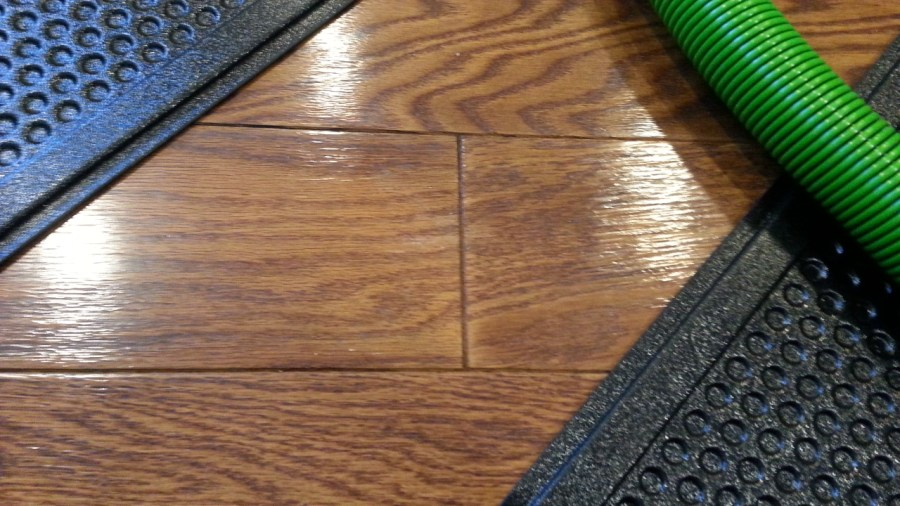 Engineered Hardwood Flooring Water Damage     Xactfloors Cracked finish engineered hardwood flooring water damage