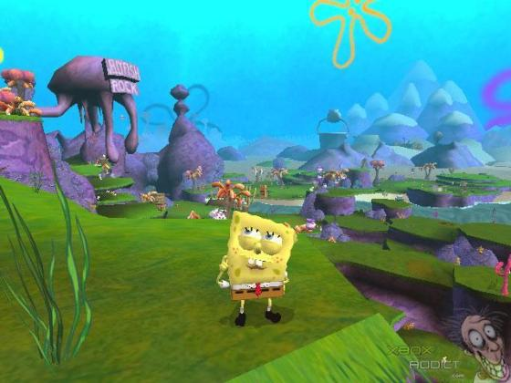 SpongeBob SquarePants  Battle for Bikini Bottom  Original Xbox  Game     Screenshots