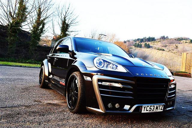 Porsche Cayenne Xclusive Wide Body Kit Xclusive Customz