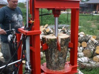 Woodwood hidráulico com suas próprias mãos