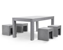 ᐅᐅ Gartenmobel Set Oklahoma Palermo 92x205 6 Stuhle Grau