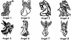 angel clipart for headstones - 640×358