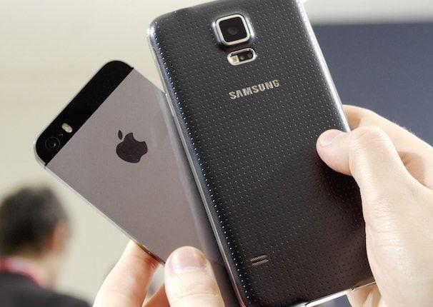 Samsung Galaxy S 5 كاميرا ضد iPhone 5S