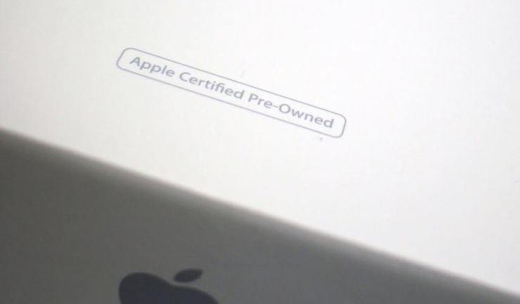 เรียกคืน (Ref, ตกแต่งใหม่เช่นใหม่, CPO) iPhone