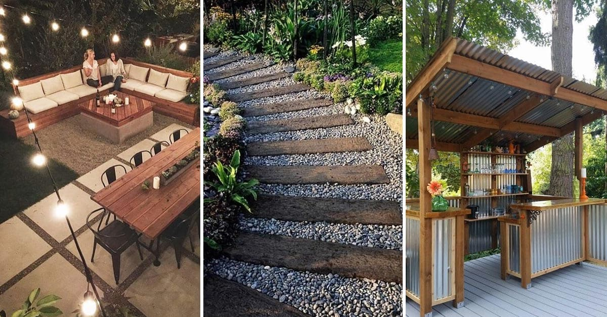 20 Amazing Backyard Ideas That Won T Break The Bank Yard