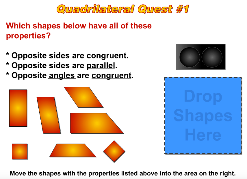 Me Quadrilateral Shape Show