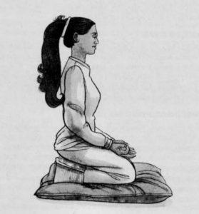 Cum să meditezi așezarea pe genunchi