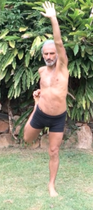 Active spinal extension, with resistance against one lower limb, by Simon Borg-Olivier