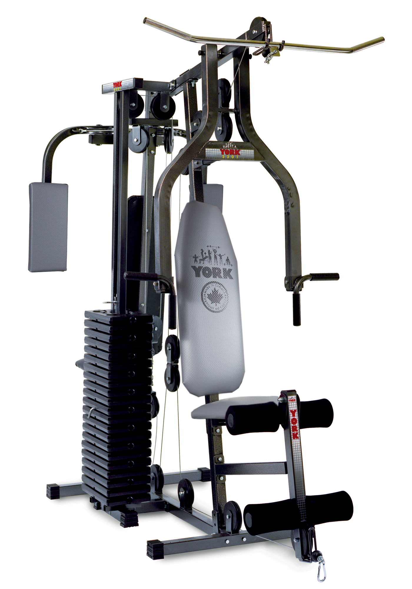 3301 Power Max Home Gym Home Gym Equipment York Barbell