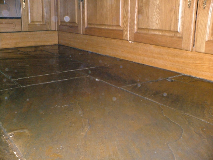York Stone Kitchen Floor Tiles