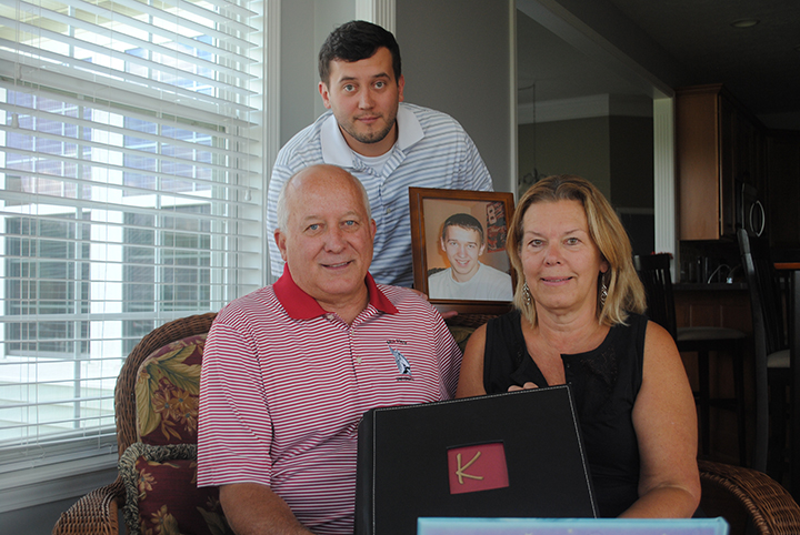 Paying it forward: Harford family remembers son ...