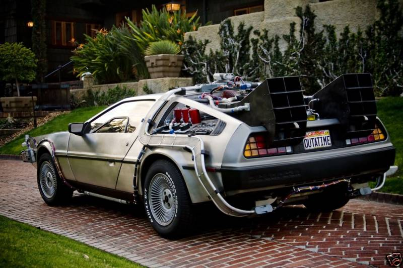 Buy Your Own Delorean Time Machine Plutonium Not Included
