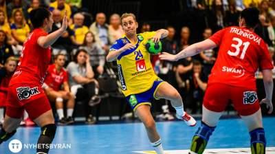 Sverige krossade Slovakien: stormar mot handbolls-VM i Japan