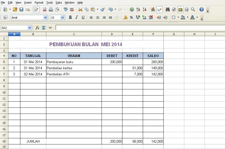 Contoh Laporan Keuangan Lengkap Dengan Rumus Excel Zahir Accounting Blog