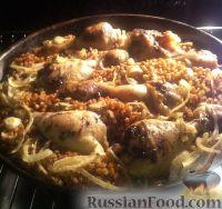 Foto till receptet: bovete med kyckling i ugnen