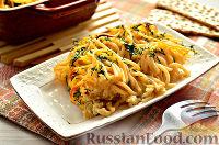 عکس به دستور غذا: پاستا با تخم مرغ