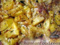 Foto till receptet: Makrill med potatisbakade under majonnäs